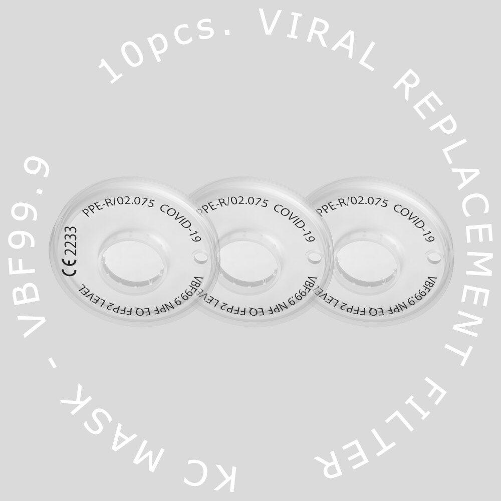 virus mask filters