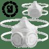 virus mask transparent