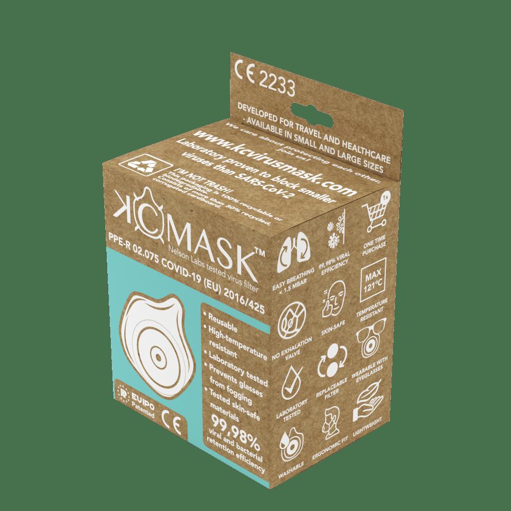 virus mask box