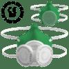 kc mask grass green virus mask